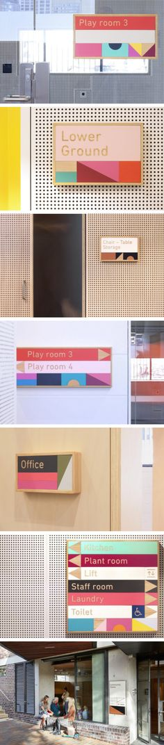 Design by Toko, Building blocks, ABA Architects, Signage / Wayfinding, Sydney, 2016