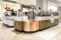 View our latest crepe kiosk. Designed, manufactured & installed in Doncaster. Find out how we can help with your retail kiosk shop design Kiosk Design, Cafe Design, Booth Design, Retail Design, Crepe Cafe, Cool Retail, Reception Furniture, Shopping Center, Milky Moo