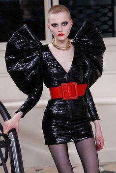 FOW 24 NEWS: Saint Laurent: Fellini-Esque Couture..Fashionweekl...