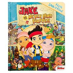 Disney Jake and the Never Land Pirates Look and Find Book | Disney StoreJake and the Never Land Pirates Look and Find Book - Your young buccaneer will love going on a treasure hunt through this Jake and the Never Land Pirates Book. Part of the Look and Find series, every colorful page is filled with hidden items for them to find.