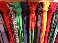 Ironwood Gift Shop at The Arizona-Sonora Desert Museum Tucson, AZ. Colorful Scarfs. http://www.desertmuseumgiftshop.com/ http://www.desertmuseumgiftshop.com/site/contact.cfm