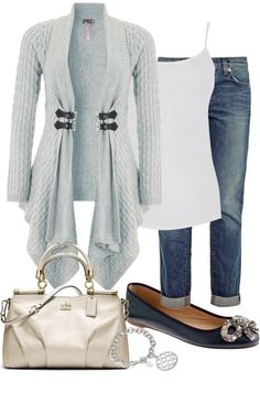 """""""Lipsy Waterfall Textured Cardi Contest"""" by seamangirl ❤ liked on Polyvore"""