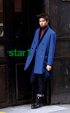 Lee Min-Ho (이민호), the older, had a fashion shoot and interview with fashion magazine 'At Style' ('At Star1').