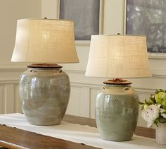 Shop courtney ceramic table lamp base from Pottery Barn. Our furniture, home decor and accessories collections feature courtney ceramic table lamp base in quality materials and classic styles. Unique Table Lamps, Large Table Lamps, Contemporary Table Lamps, Table Lamp Base, Bedside Table Lamps, Ceramic Table Lamps, Lamp Bases, Modern Table, Nightstand Lamp