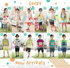 GW89 FASHION STYLE SIZE 95-140 FIT TO 2T-7T