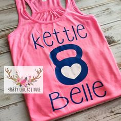 Crossfit Kettle Belle Shirt Tank Womens Small Medium Large Boutique... ($22) ❤ liked on Polyvore featuring activewear, activewear tops, tanks, tops, white, women's clothing, workout shirts, white workout shirt, racer back shirt and white shirt