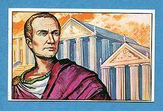 ARMI E SOLDATI - Edis 71 - Figurina-Sticker n. 57 - GIULIO CESARE -Rec