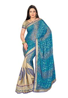 #Designer Multi Colored #Sari USA  Check out this page now :-http://www.ethnicwholesaler.com/sarees-saris