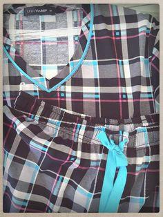Plaid pyjamas for men, from then till now! #vampfashion #uomodivamp #plaid