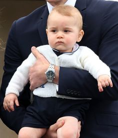 Baby George on his last day in New Zealand.