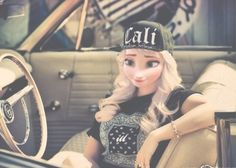 Image via We Heart It https://weheartit.com/entry/126955946 #car #elsa #modernelsa