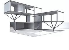 38 Trendy home office modern shipping containers Building A Container Home, Container House Design, Container Homes, Layout Design, Shipping Container House Plans, Shipping Containers, Container Restaurant, Planer Layout, Container Architecture
