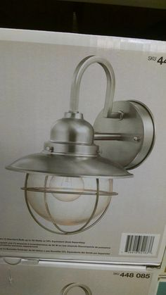 bad27771f655 Fireplace sconces at Home Depot. Glass globe is seeded.
