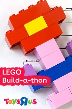 Get the whole family involved in the build with our LEGO Build-a-thon printable game! Just download and print out the activity sheet, cut out the objects, grab some LEGO bricks and build, build, build!