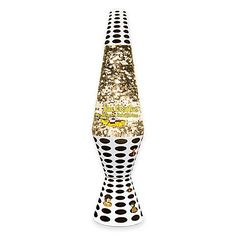 $30.00 l Float along on the Sea of Holes with this Lava Lite Beatles Yellow Submarine Silver Star Glitter Lava Lamp. With the Fab Four peeping out on the base as in the scene from the film, the globe features glittery silver stars that shimmer in the light.