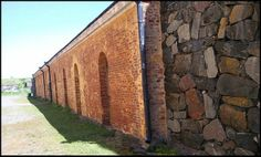 Visiting Suomenlinna Sea Fortress in Helsinki, Finland Helsinki, Brick Wall, World Heritage Sites, Finland, Sea, Stone, City, Building, Rock