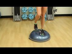 Ankle-Strengthening Exercises With a Balance Ball : Stretches & Workout Tips