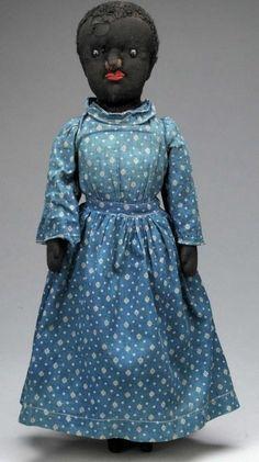Rare Black Cloth Doll.