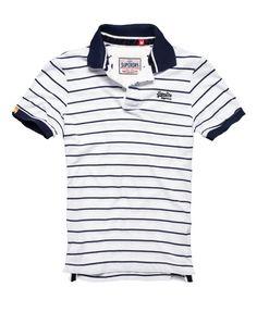 9c8b6387f3f Superdry single stripe polo Mens Polo T Shirts, Polo Shirt, Polo Masculina,  Superdry