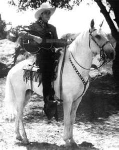 """Tex Ritter and White Flash Nicknamed """"America's Most Beloved Cowboy,"""" he was a singing-cowboy star of """"B"""" westerns during the and and later a country-music recording star.Also John Ritter's daddy. Tex Ritter, John Ritter, Classic Hollywood, Old Hollywood, Cowgirl And Horse, The Lone Ranger, Tv Westerns, Cowboys And Indians, Country Music Stars"""
