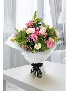 Flower Delivery Ireland and Dublin from Flowers. Send flowers with Flowers. Garage Design, Exterior Design, Food Signage, Tie Shop, Hand Tied Bouquet, Interior Work, Flowers Delivered, Send Flowers, Vintage Designs