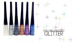 NOUVEAUTES !!!  Arrivage d'eye-liner à paillettes en vente ici http://www.pyramideauxbijoux.com/maquillage/crayons-eye-liners-mascaras/