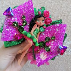 México moño bow nopal Captaceas pasta rosa verde glitter Balerina, Expecting Baby, Baby Headbands, Abundance, Barbie, Pasta, Crown, Jewelry, Ear Rings