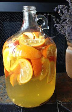 Vin d'Orange in the making...