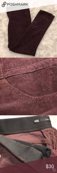 Maurice's Maroon Corduroy Pants Maroon corduroy pants. Size: 5/6. The waste is super stretchy and soft. They've hardly been worn and are in great condition. The fabric is part spandex, so they stretch for easy movement and comfort. Elastic waste band. Maurices Pants Straight Leg