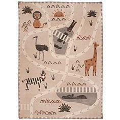 Harriet Bee Teppich Callan aus Baumwolle in Leinen/Grau Dilly Dally, Thing 1, Indoor Rugs, Kids House, Rugs Online, Cotton Linen, Savannah Chat, Biodegradable Products, Baby Shop