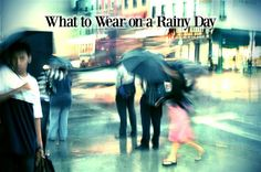 Don't let the rain cramp your warm weather style. Here's exactly what to wear on a warm rainy day, with stylish and waterproof outfit ideas. June Gloom, Flip Flop Brands, Rainy Day Fashion, Summer Outfits, Cute Outfits, Spring 2015 Fashion, Spring Shower, When It Rains, Get In Shape