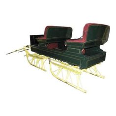 stone sled   Google Search   Blacksmithing   Pinterest   Horse     Buy Restored Equestrian Antique Horse Sleigh Winter Bobsled at online store