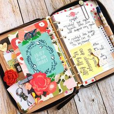 Christy Tomlinson uses planners! I love her mixed media art and I love the way she decorates her planners as well :) http://christytomlinson.typepad.com/christytomlinson/2015/02/sharing-the-love-happy-february.html