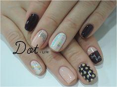 ZOZOPEOPLE | Dot+LIM nail - 単色塗り