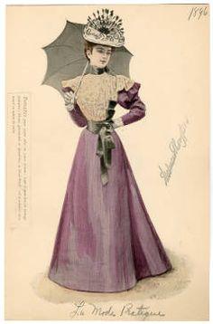 1896, Plate 083 :: Costume Institute Fashion Plates