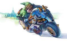 A Nintendo revelou a primeira imagem da Master Cycle, que é a moto que o Link pilotará no Mario Kart 8 e que é cheia de referências à série Legend of Zelda. A moto estará no primeiro pacote de DLC do Mario Kart 8.