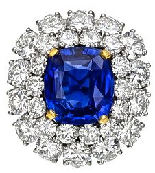 Van Cleef & Arpels Sapphire & Diamond Ring