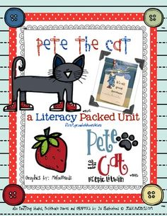 Pete the Cat Literacy and Art Unit
