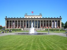 The Altes Museum (Old Museum) is infact Berlin's oldest museum located in the UNESCO-listed Heritage site known as Berlin's Museum Island opposite at the Lustgarten.