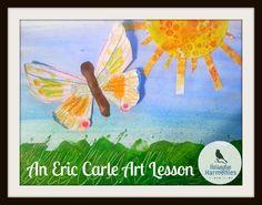 An Eric Carle Art Lesson