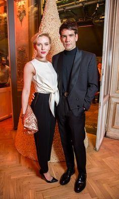 Scarlett Johansson and Romain Dauriac  Scarlett and her French husband have ended their marriage. A source confirmed to People magazine that the pair have been separated since the summer. The Avengers actress and Romain's romance broke in 2012, and the pair secretly wed in 2014 following the birth of their daughter Rose Dorothy Dauriac.   Scarlett was previously married to Ryan Reynolds from 2008-2010.