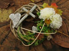 Wreath to the grave. I did it to my uncle who died when he was only few months old. One of my first work.