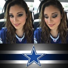 Younique Cowboys Makeup