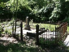 Alabama cemetery from the 1850s. Rural cemeteries, like this one, all around the South, harken to long ago and look like scenes from the next great Southern gothic novel.