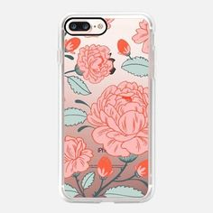 Casetify iPhone 7 Case and Other iPhone Covers - Royal Rose by Paper Raven Co. | #Casetify