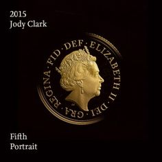 The Fifth Portrait by Jody Clark. http://www.royalmint.com/Features/The-Fourth-and-Fifth-Definitive-Coinage-Portrait