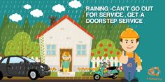 #Raining Con't Go Out For #Service #get #DoorStep #Services #Hoopy Visit Here :- http://hoopy.in/