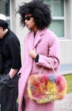 Moda de Rua: Rosa - Street Fashion: Pink (2)