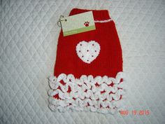 Dog Sweater Hand Knit Pet Sweater Sweater for Dog by dogoncozy