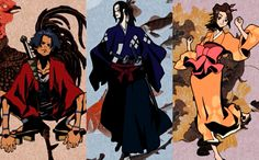 samurai champloo fuu and jin | Gifted♫ (Mugen | Jin | Fuu Samurai Champloo)